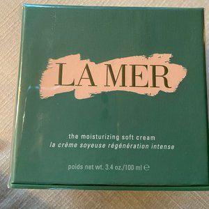 La Mer the moisturizing soft cream 3.4oz/100ml